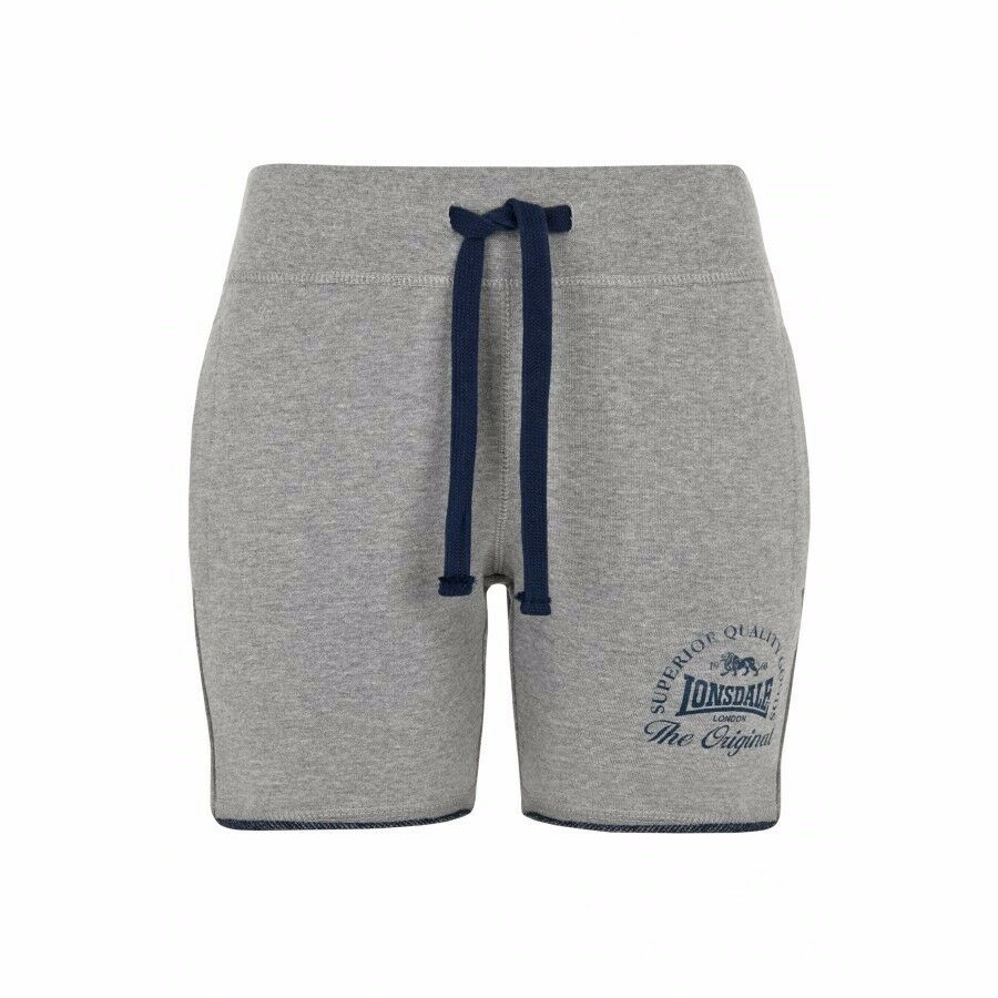 Lonsdale Ladies Sweat Shorts Apley grey grey