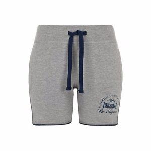 Lonsdale-Ladies-Sweat-shorts-apley-gris-Grey