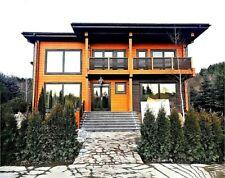 Modern Wooden House Kit Lh 219 Eco Friendly Wood Prefab Diy Building Cabin Home
