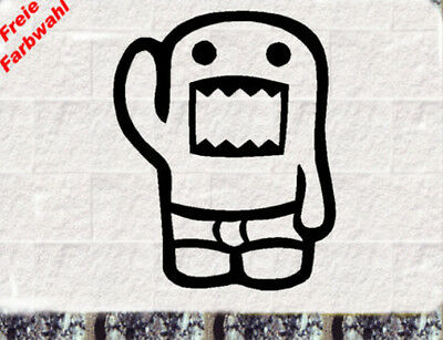Domokun Aufkleber Feinripp JDM Style Sticker OEM  Fun Stickerbomb Shocker