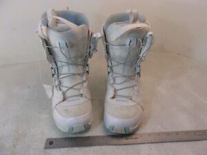 Szczegóły o SALOMON LINEA SNOWBOARD BOOTS WOMEN SIZE 9 SPEED LACE