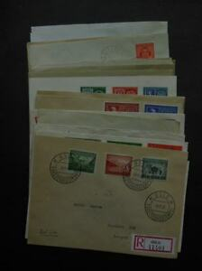 NORWAY-Beautiful-collection-of-23-all-diff-FDC-between-1941-1960-Cat-4320-Kr