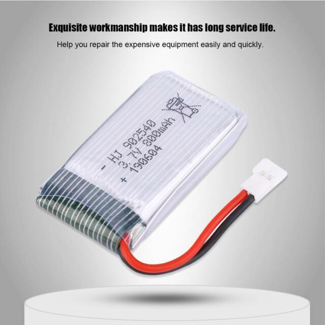 37v 800mah Lipo Battery Spare Accessory For Syma X5c X5s Wcx30 Drone Quadrotor