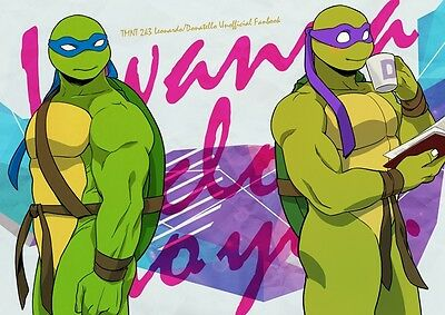 Teenage Mutant Ninja Turtles yaoi doujinshi RxL DxM LOVE STICK B5 24pages