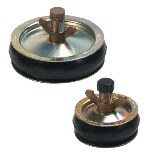 """6/"""" Various Sizes ¾/"""" Bailey Drain Test Plug Bung Plastic or Brass Caps"""