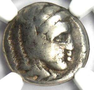 Celts-Alexander-the-Great-III-AR-Drachm-Coin-100-BC-Certified-NGC-VG-Rare