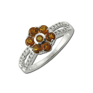 Citrine-and-Diamond-Floral-Engagement-Ring-0-85-ct-tw-in-14K-White-Gold