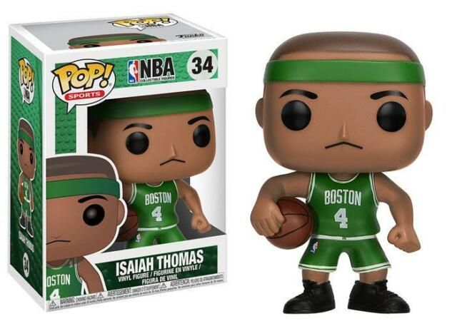 NBA: Isaiah Thomas Boston Celtics Vinyl Figure Bundled with Pop Protector Pop FunKo