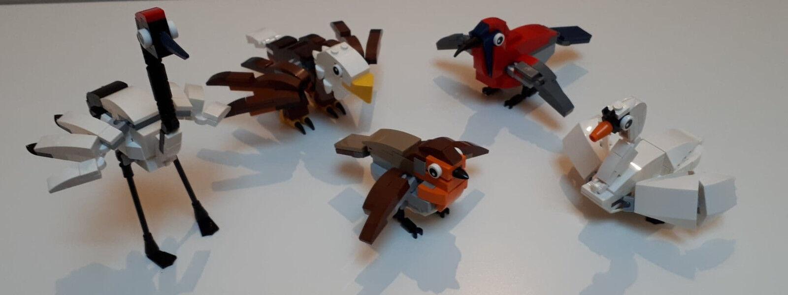 Lego 4002014 Hub birds Exclusive Employee Set - Oiseaux set exclusif employé