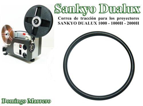 Correa Proyector Cine Super 8 - SANKYO DUALUX 1000 - 1000H - 2000H Drive Belt