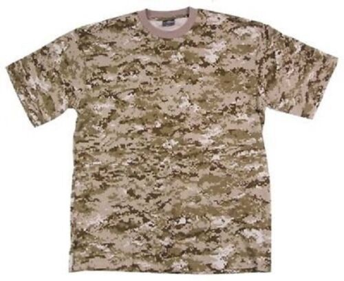 US Shirt Marpat Army USMC DESERT DIGITAL T-SHIRT SHIRT Digi Camo