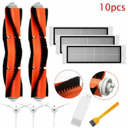 10Pcs Brushroll Side Brush Replacement for Xiaomi Roborock Xiaowa Vacuum Cleaner