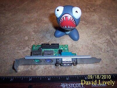 DELL Y9003 OPTIPLEX GX520 GX620 SERIAL PS//2 BOARD PANEL CN-0Y9003 NO//CABLE
