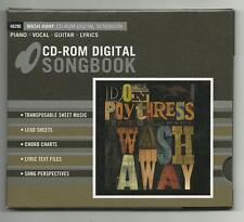 Don Poythress Wash Away CD-Rom Digital Songbook sheet music, chord charts MORE