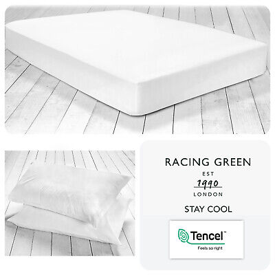 180TC Cotton 50/% 25cm box DUCK EGG single fitted bed sheet