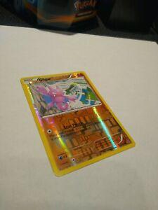Pokemon card foil/holographic Gligar 2015 36/108