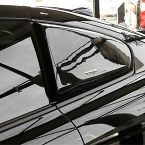 For Infiniti G37 08-13 Pure Fiberglass Side Window Scoops Unpainted