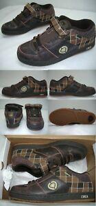 de 7 de 207 Mens de Zapatos Circa marrón skate cuero tartán New 70 Se 6p8B5wn5q
