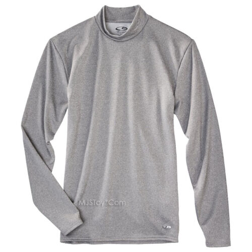 NWT C9 Champion Men Power Gray Core Warm Compression Shirt Cold Workout Gear
