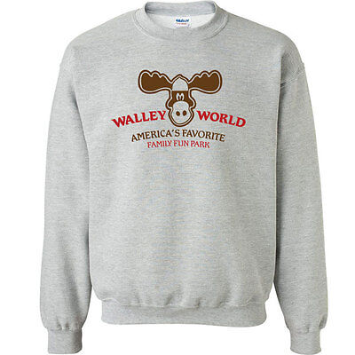 236 Walley World Crew Sweatshirt vacation 80s marty moose funny griswolds retro   eBay