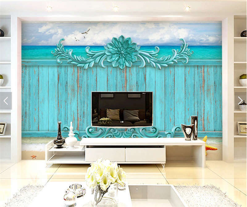 Whole Simple Pattern 3D Full Wall Mural Photo Wallpaper Printing Home Kids Decor