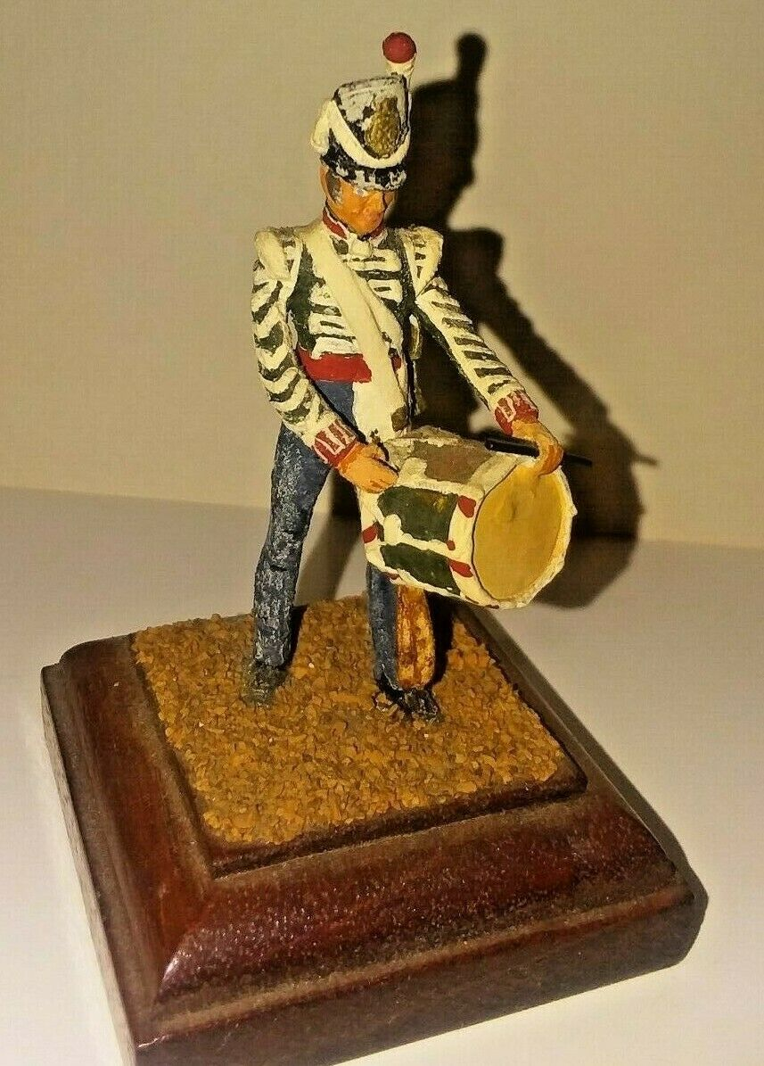 Charles Stadden lead soldier, 80 mm. drummer  73rd foot guards (c 1815)