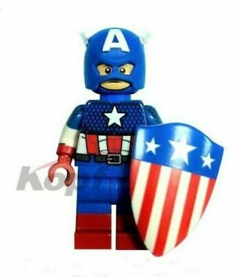 CAPTAIN AMERICA AVENGERS MARVEL MINI FIGURE USA SELLER NIP CAN PLAY WITH LEGO`S