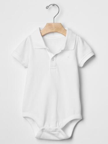 Baby Gap Boy Polo Bodysuit 6-12 M 17-22 lbs 0-3 M 7-12 lbs