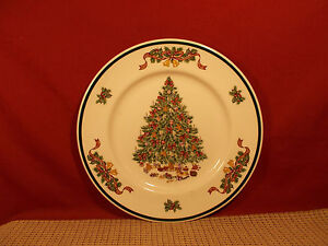 Details about Johnson Brothers China Victorian Christmas Dinner Plate 10  1/4
