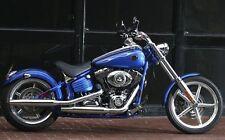 Harley Davidson Genuine OEM Original Rocker FXCW Factory Mufflers 2008 2009 2010