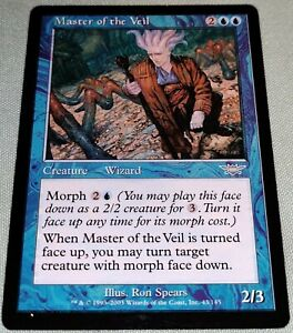 The Gathering MTG Legions Master of the Veil LP FOIL Magic
