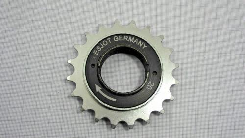 FREE Wheel Sprocket 20 Teeth Spartamet easy Moped 1A Quality Germany Free Wheel