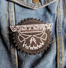 Victory Motorcycle Small Black Motorcycle Gear Patch