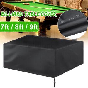 Full Length Billiard Pool Table Cover Waterproof Dustproof Snooker  C