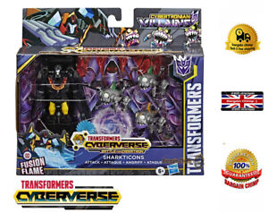 Transformers Hot Rod-Cyberverse sharkticons ATTACCO-Robot /& Mini Set cattivi