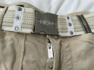 """High Use By Claire Campbell """"Go Ahead"""" Cropped Trousers"""