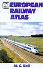 European Railway Atlas by M.G. Ball (Paperback, 1997)