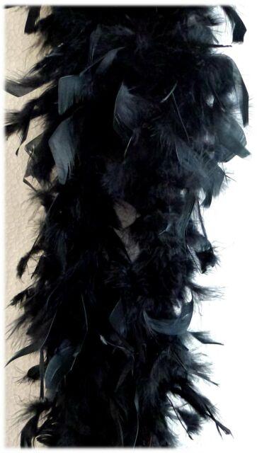 Federboa 1,8 m diverse Farben - Federstola Federschal - Kostüm Zubehör