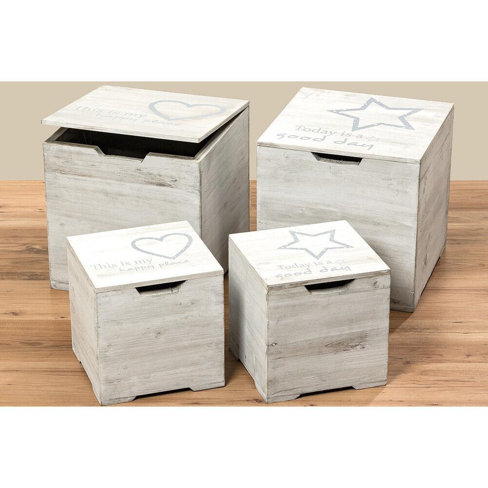 Truhe Aufbewahrungsbox GOOD DAY 25cm grau | Verschiedene Verschiedene Verschiedene aktuelle Designs  11191f