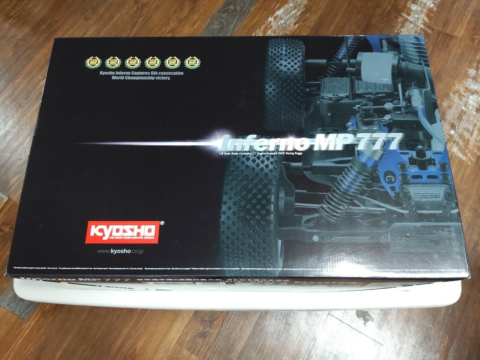 Kyosho NIB 1 8 MP777 SP1 Edition Kit w Brushless kongröneringaspaket