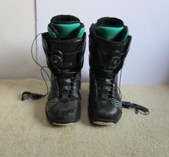 Ride Sash Boa Coiler Women's Snowboard Boots Size US 7.5