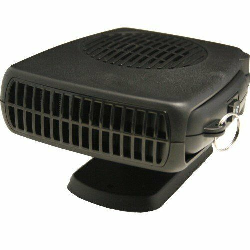 150W 12V CERAMIC CAR HEATER HOT demister 12v dash defroster plug in de-icer 3in1