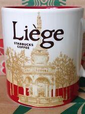 NEW Starbucks LIEGE Belgium icon 16 oz mug 2015 release