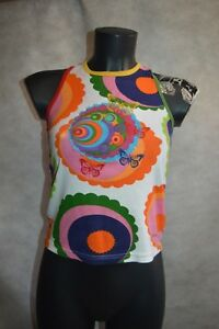 TOP-TEE-SHIRT-DESIGUAL-TAILLE-11-12-ANS-XS-HAUT-CAMISA-MAGLIA-TBE