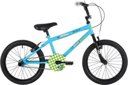 EM1533 Kids Cycle PRE SUMMER SALE NEW Bumper Stunt Rider 16 blue//green