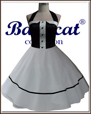 50er Jahre Tanzkleid Vintage Mode Petticoat Kleid ...
