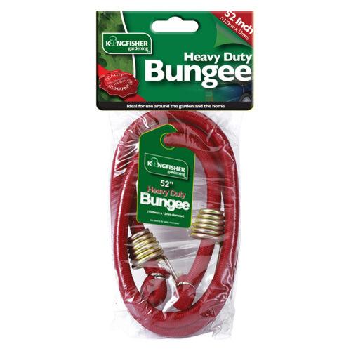 "52/"" Bungee-Métal Crochet Fin Kingfisher Heavy Duty Bagages Sangle 130 cm"
