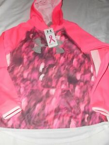 UNDER ARMOUR POWER IN PINK BREAST CANCER LOOSE FIT SHIRT L NWT $$$$
