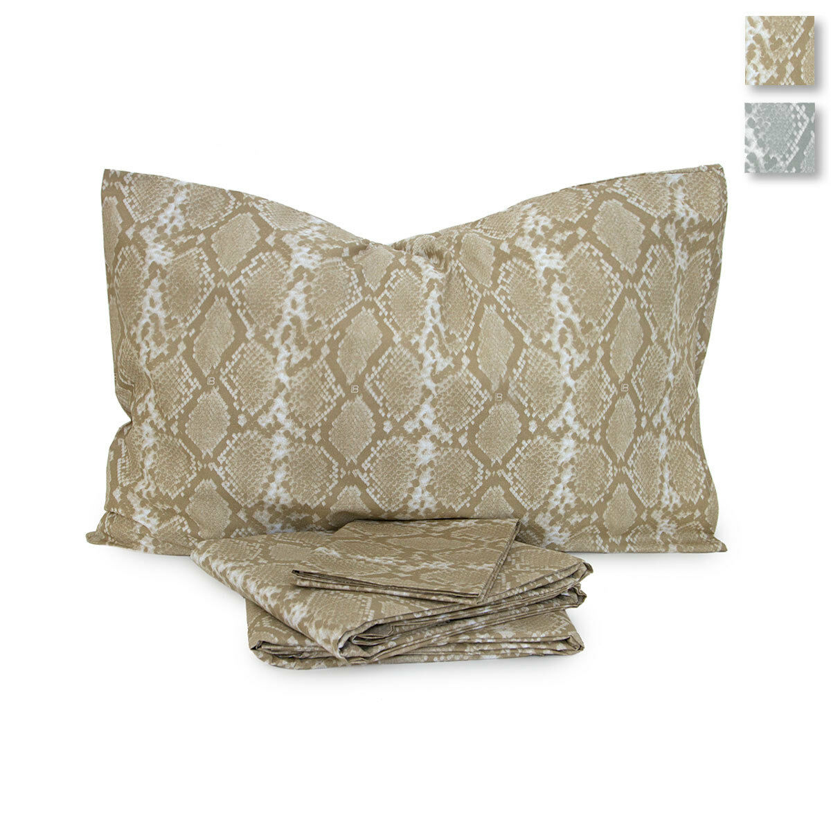 Completo lenzuola in percalle Clizia di Laura Biagiotti Matrimoniale maxi R559