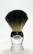 HANS BAIER Rasierpinsel Dachshaar Acrylglas shaving brush badger 20 mm Germany